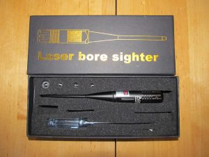 How the boresight comes packaged.