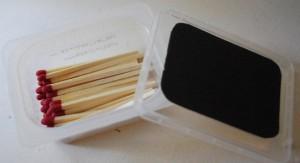 sandpaper matchbox
