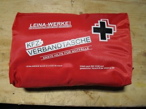 The First Aid Kit pouch