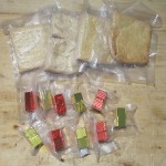 Hardtack and Bouillon vacuum packed